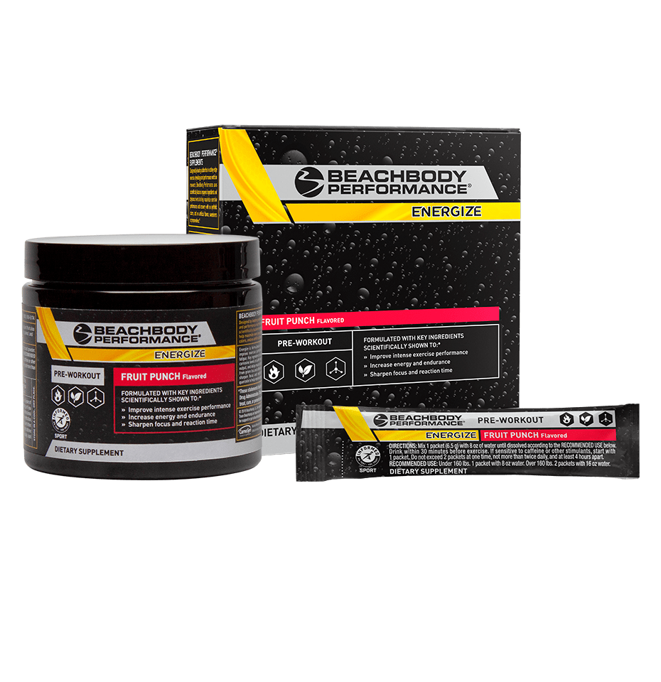 Energize Pre-Workout by TeamBeachBody® package
