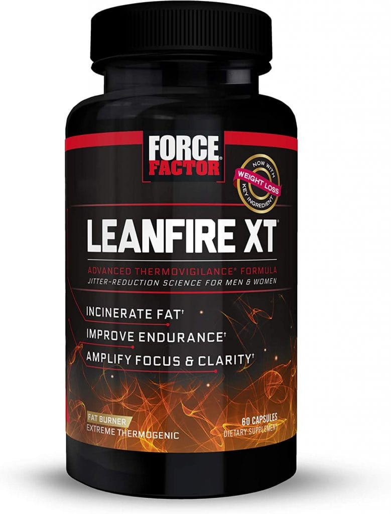 Force Factor LeanFire XT Thermogenic Weight Loss Supplement
