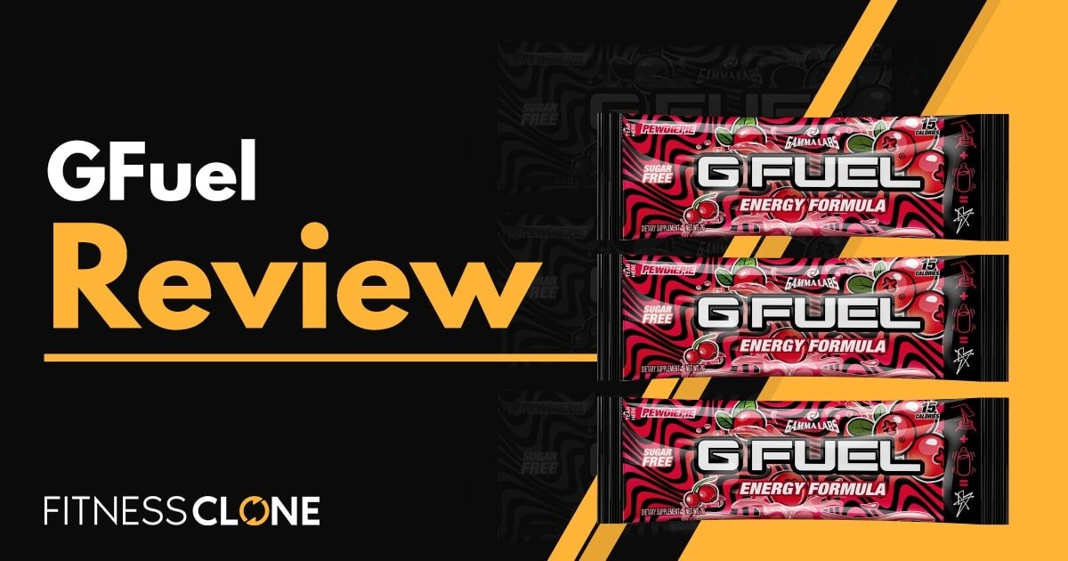 GFuel Review – A Supplement Drink For Gamers