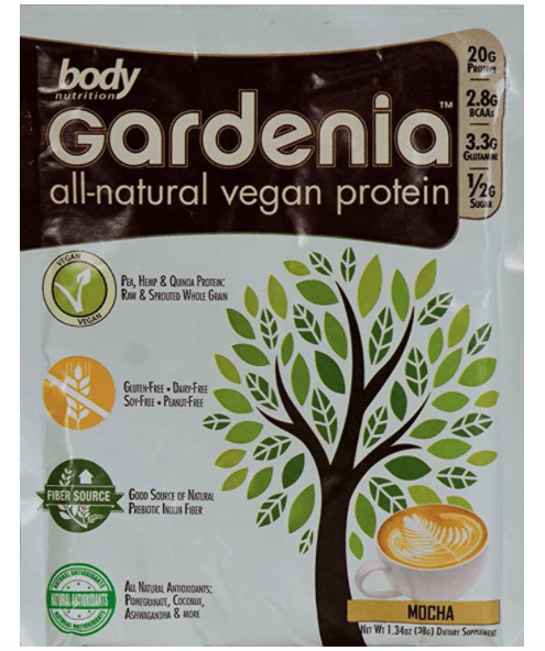 Gardenia All-Natural Vegan Protein by Body Nutrition