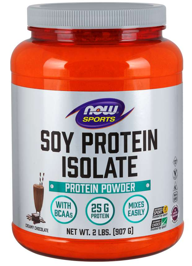 Soy Protein Isolate by NOW Sports
