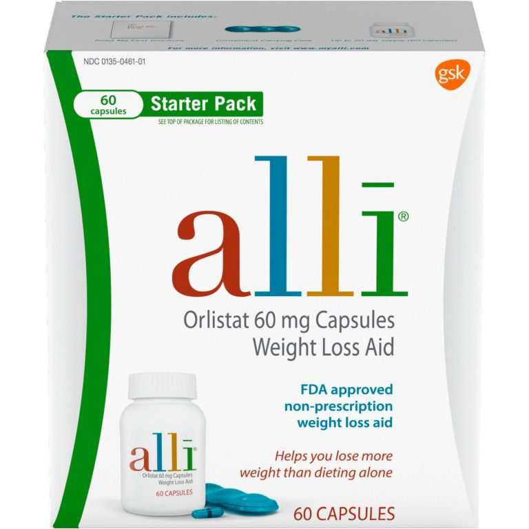 Alli Orlistat Review – Does This Weight Loss Aid By GSK Work?