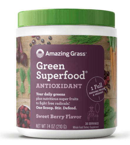 Amazing Grass Green Superfood Antioxidant Super Greens Powder