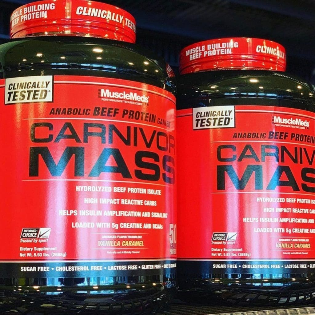 Carnivor Beef Isolate Protein Powder 2 pack