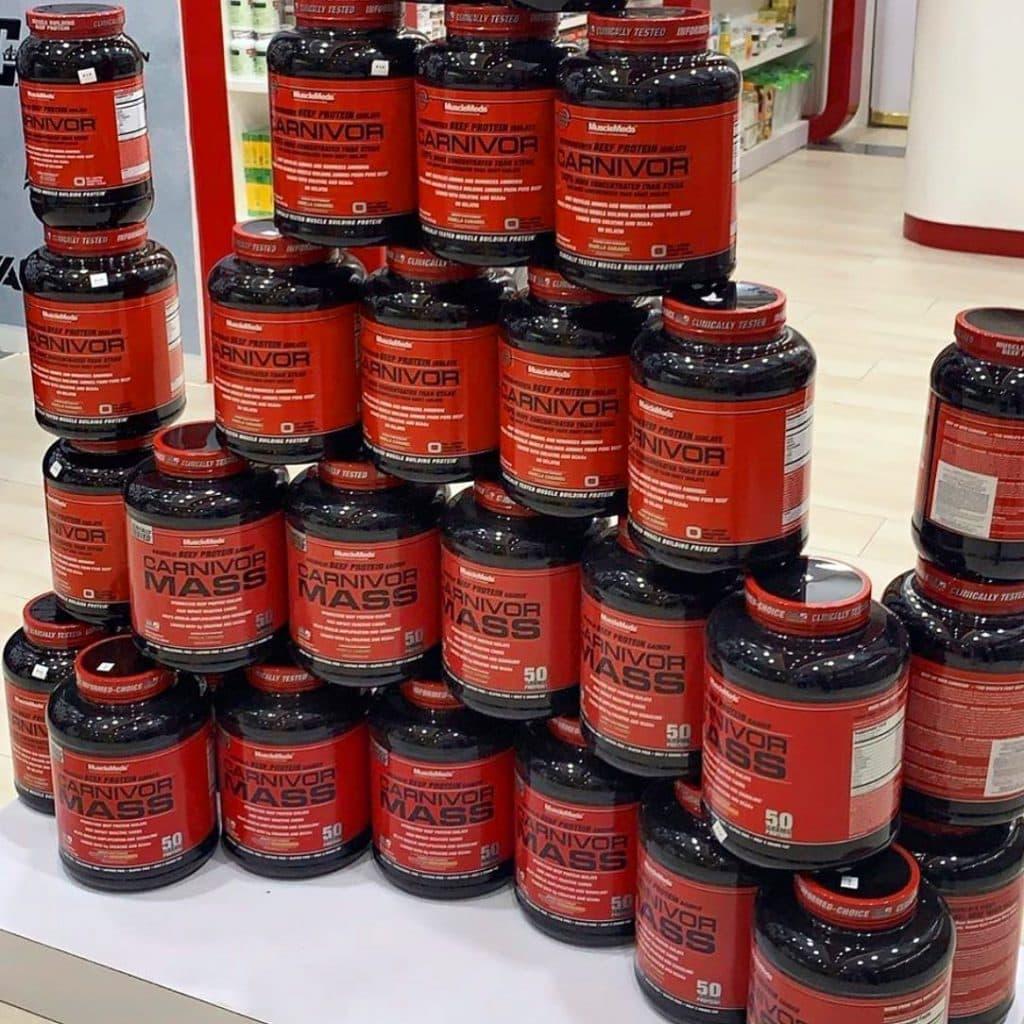 Carnivor Beef Isolate Protein Powder tower