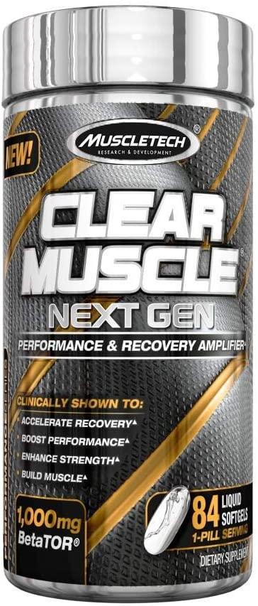 Clear Muscle Next Gen 84 gel