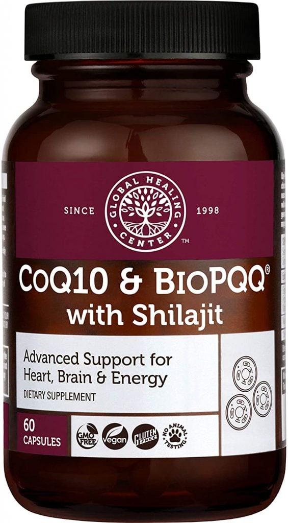 CoQ10 & BioPQQ Enhanced with Shilajit