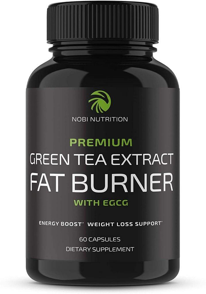 Cutting Weight Nobi Nutrition Green Tea Fat Burner