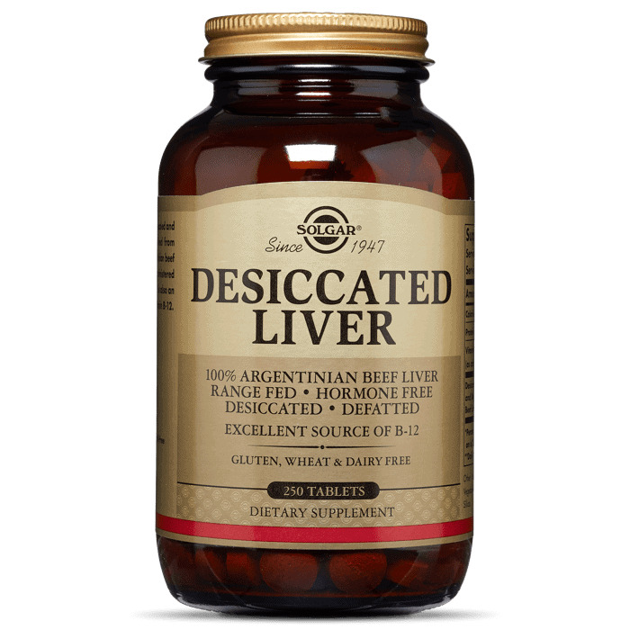 Desiccated Liver by Solgar