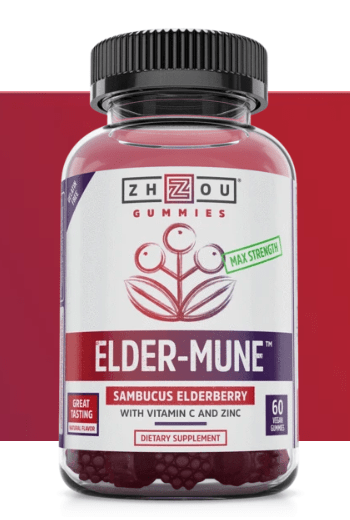 Elder-Mune Sambucus Elderberry Gummies