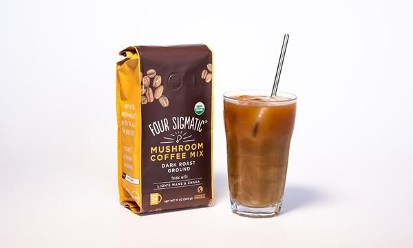 Four Sigmatic Mushroom Coffee in a cup