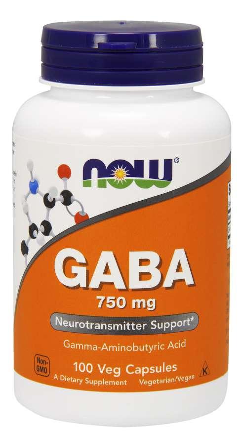 GABA 750 mg Veg Capsules
