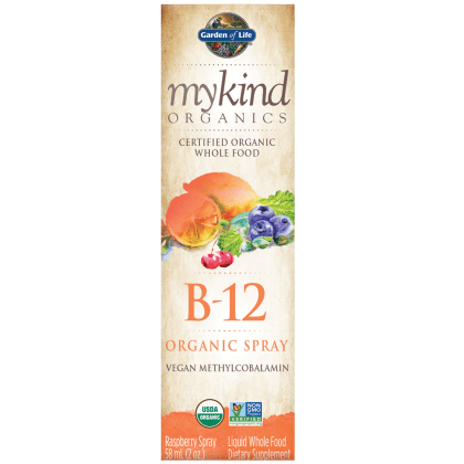 Garden of Life B12 Vitamin - mykind Organic Whole Food B-12
