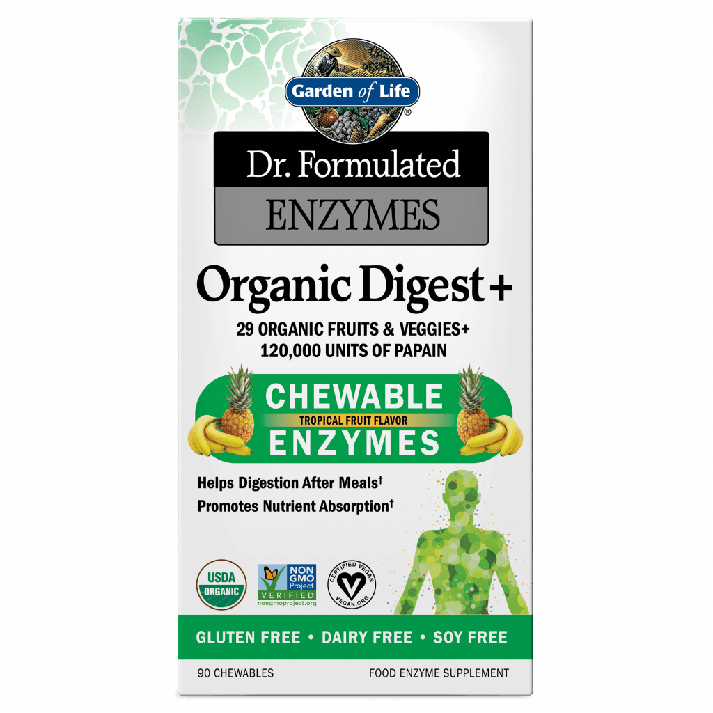 Garden of Life Dr Formulated Enzymes Organic Digest