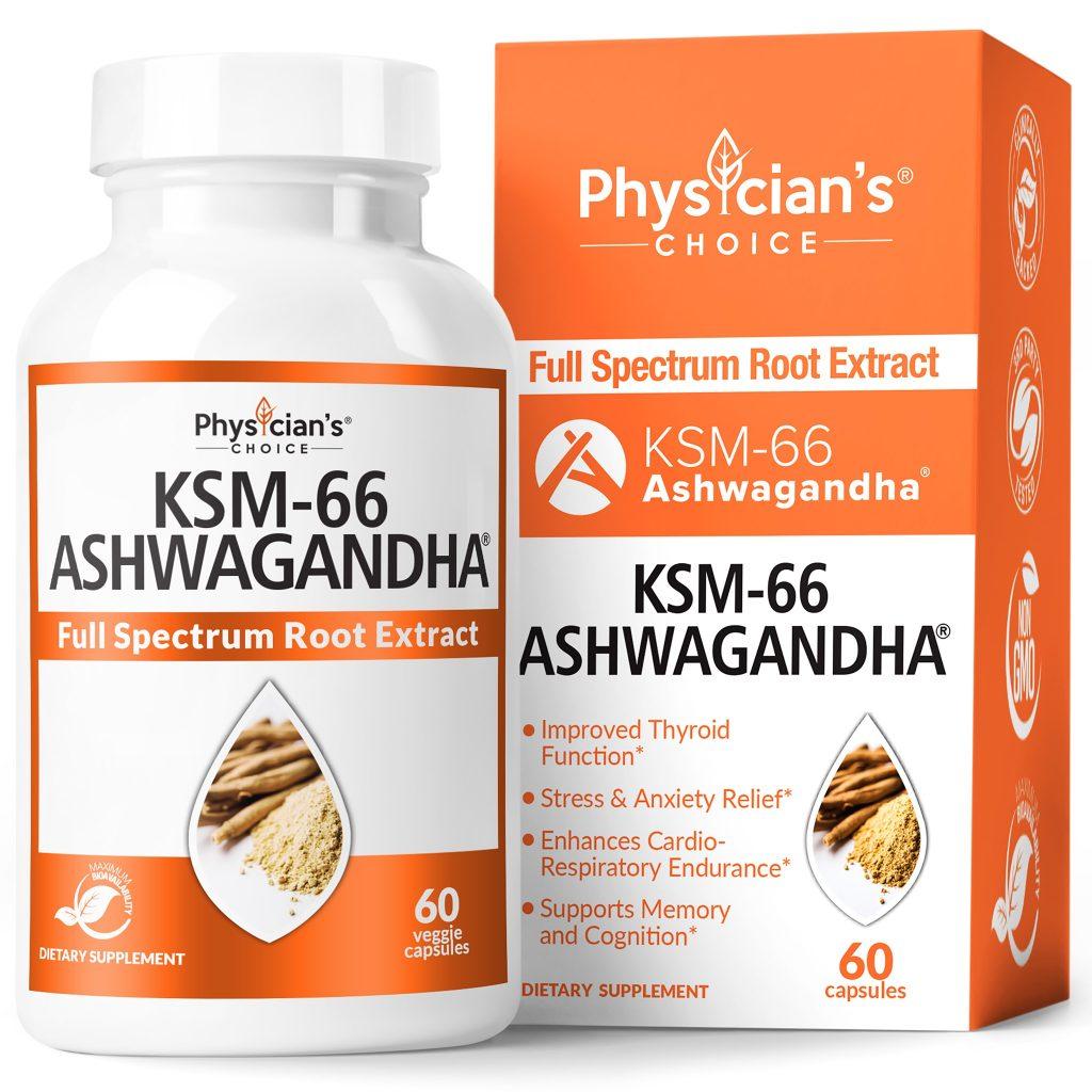 KSM-66 ASHWAGANDHA by Physicians choice