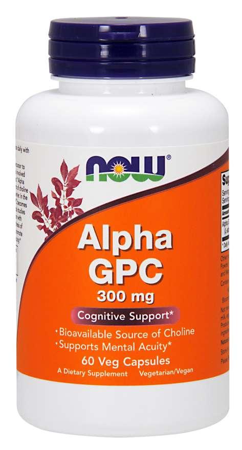 NOW Supplements Alpha-GPC
