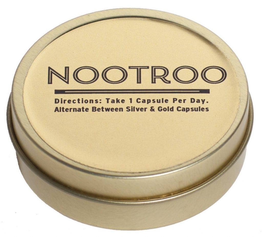 Nootroo Gold and Silver directions
