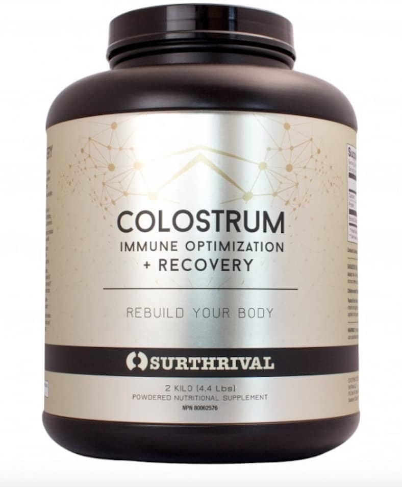 Recovery Colostrum, by Surthrival