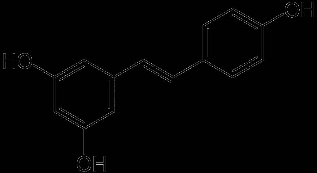 Resveratrol symbol