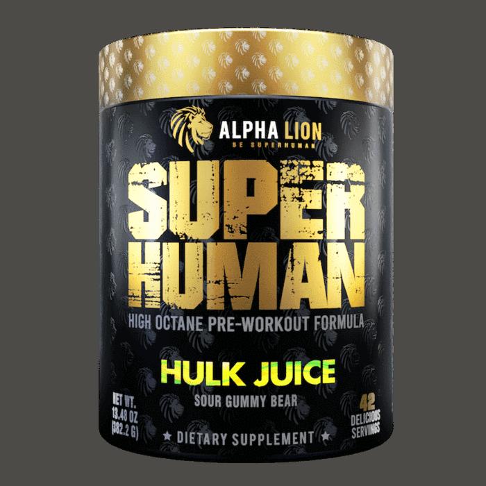 SUPERHUMAN Pre-Workout supplement