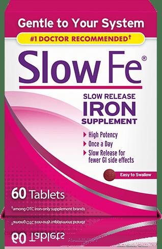 Slow Fe Iron Supplement