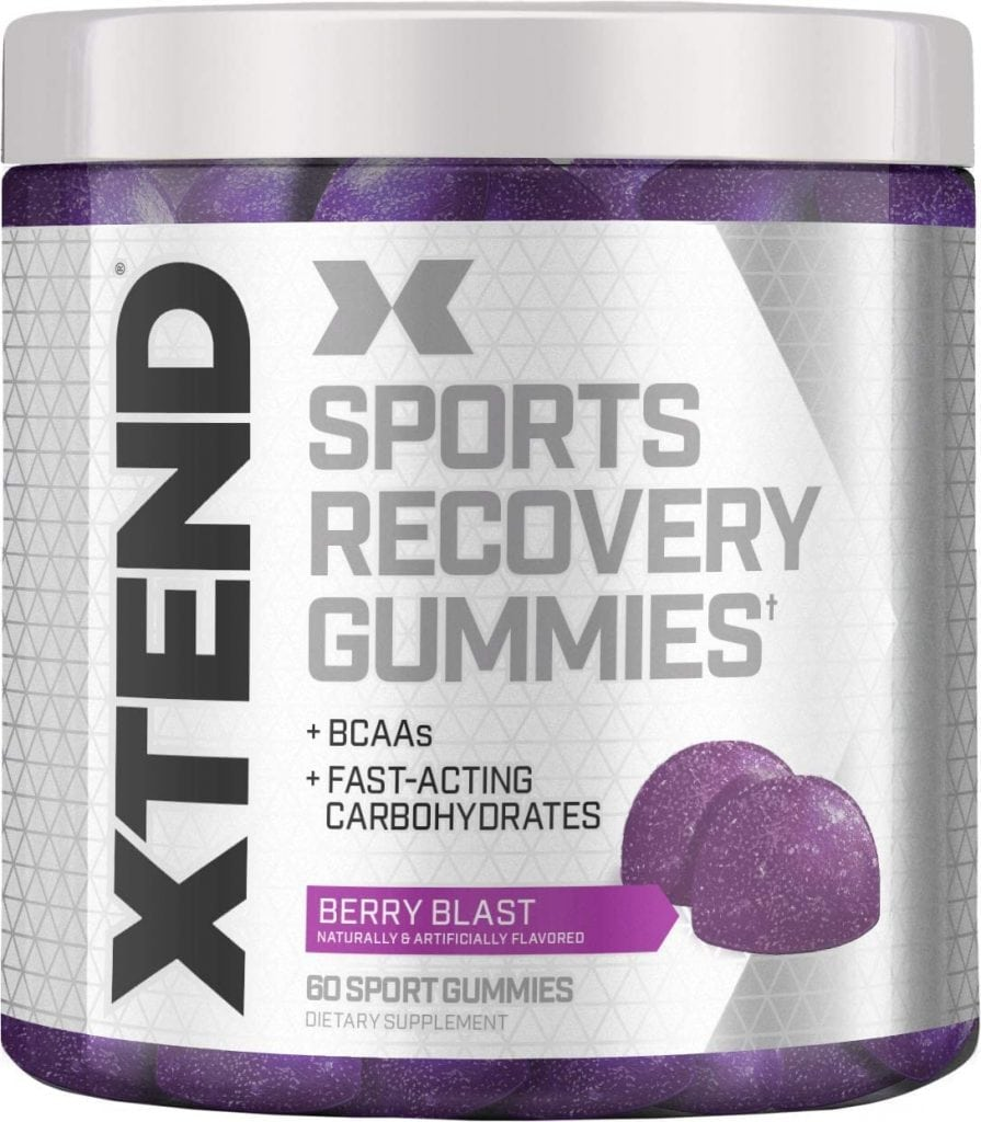Xtend Sports Recovery Gummies from Nutrabolt's Scivation