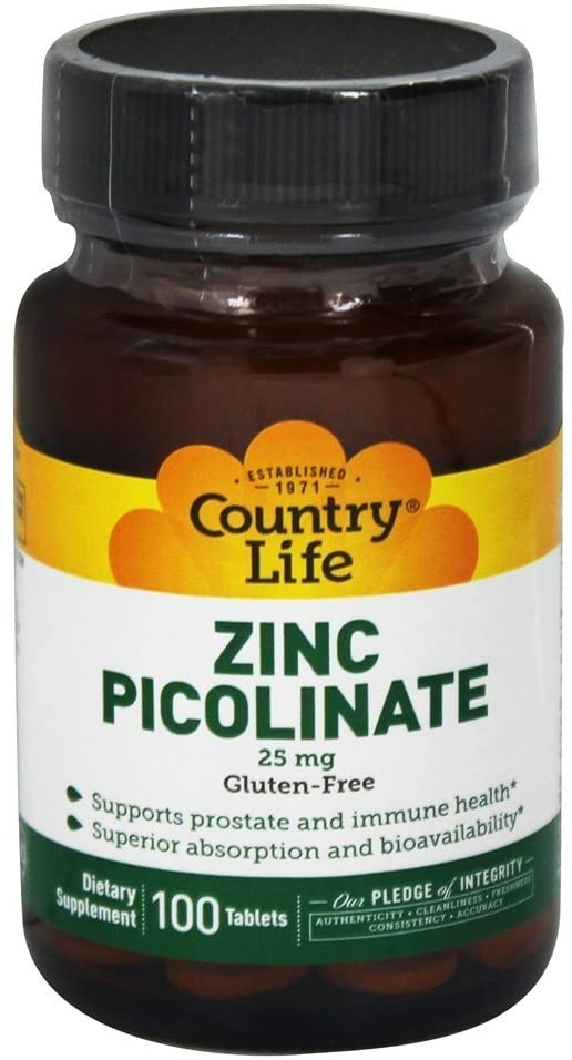 zinc supplement country life