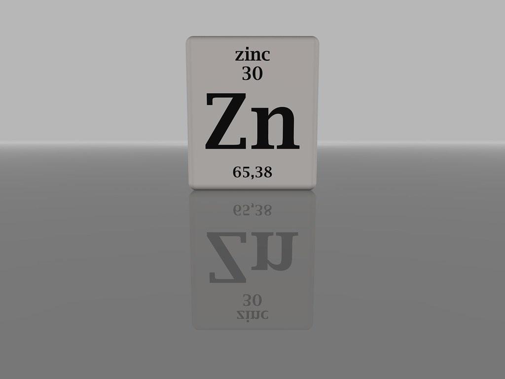zinc supplemet periodic table