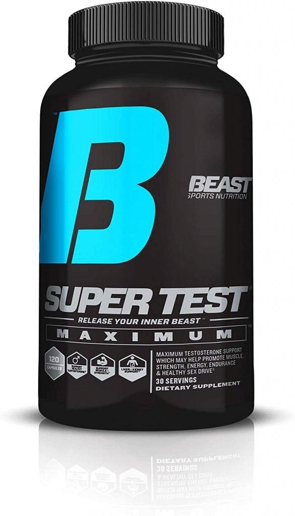 Super Test Maximum Beast Sports Nutrition