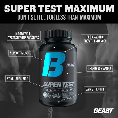 Beast Super Test Capsules benefits