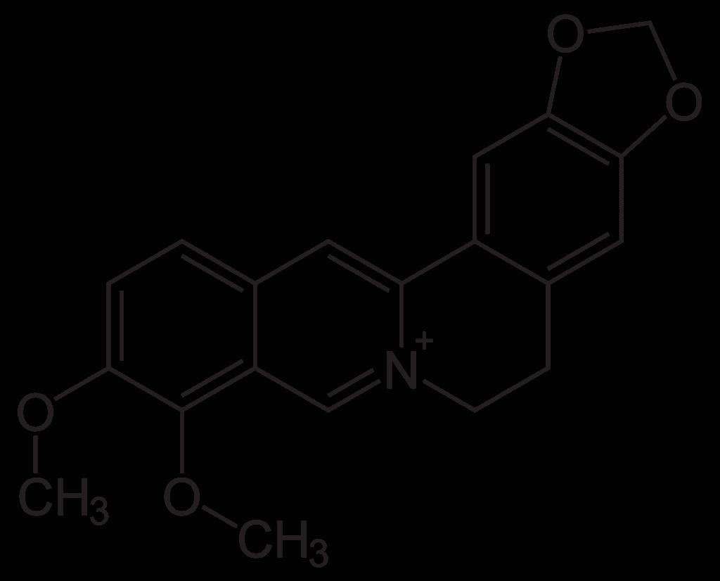 Berberine diagram