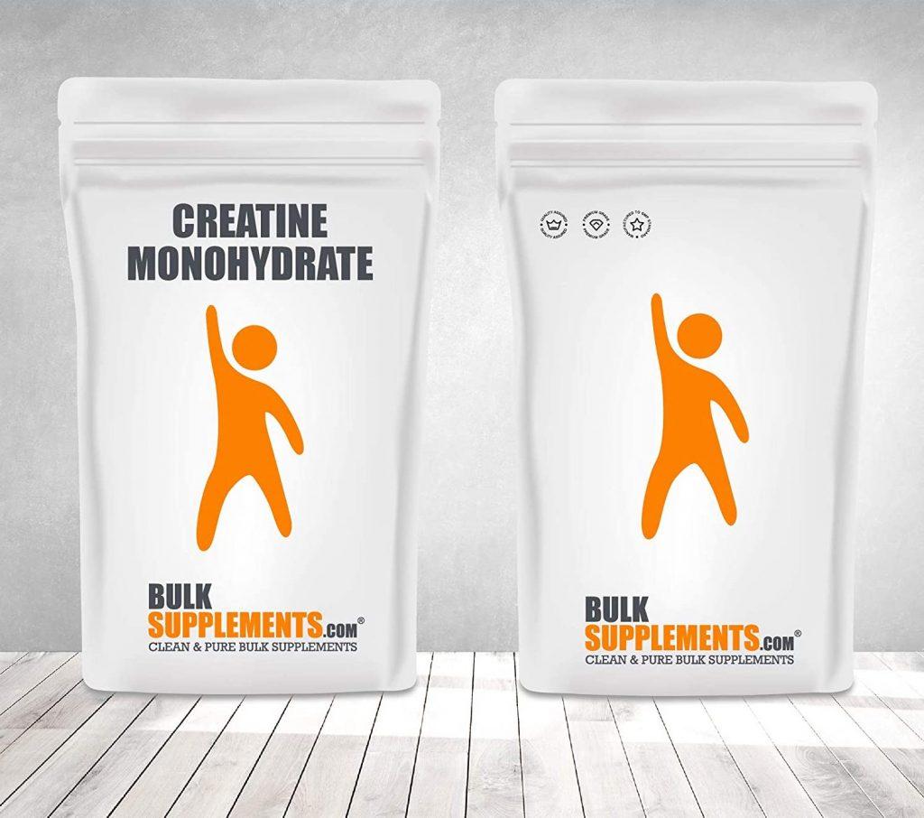 Bulk Supplements Creatine Monohydrate packaging