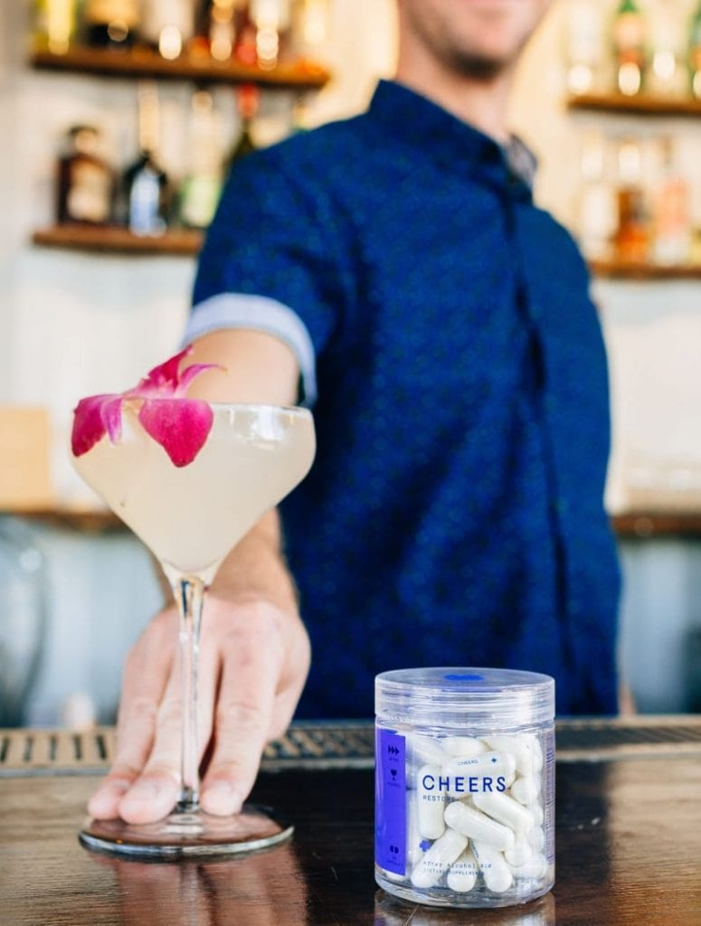 Cheers Restore in a bar