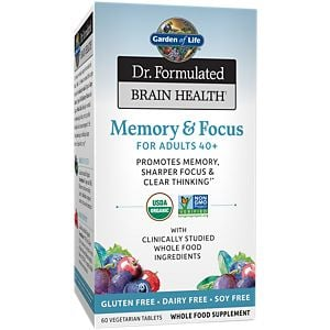 Dr. Formulated Organic Memory & Focus