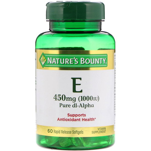 E Pure dl-Alpha, from Nature's Bounty