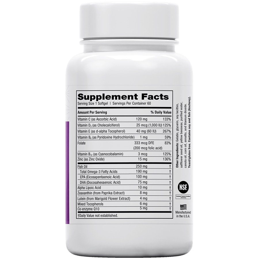 EyePromise Restore Supplement facts