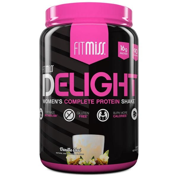 FitMiss Delight Protein Powder Bottle