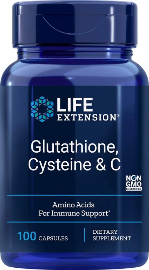 Glutathione, Cysteine & C, from Life Extension