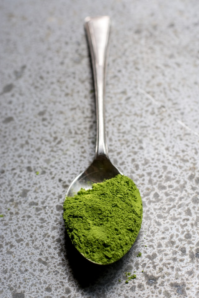 Green supplement powder