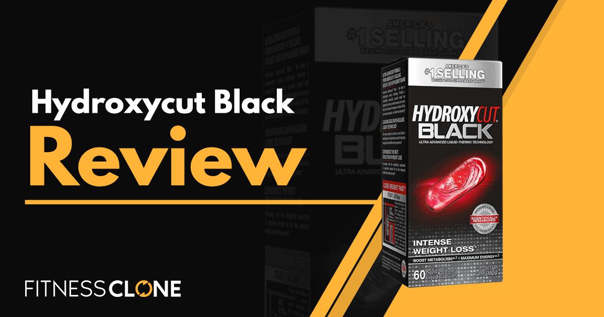 Hydroxycut Black Review