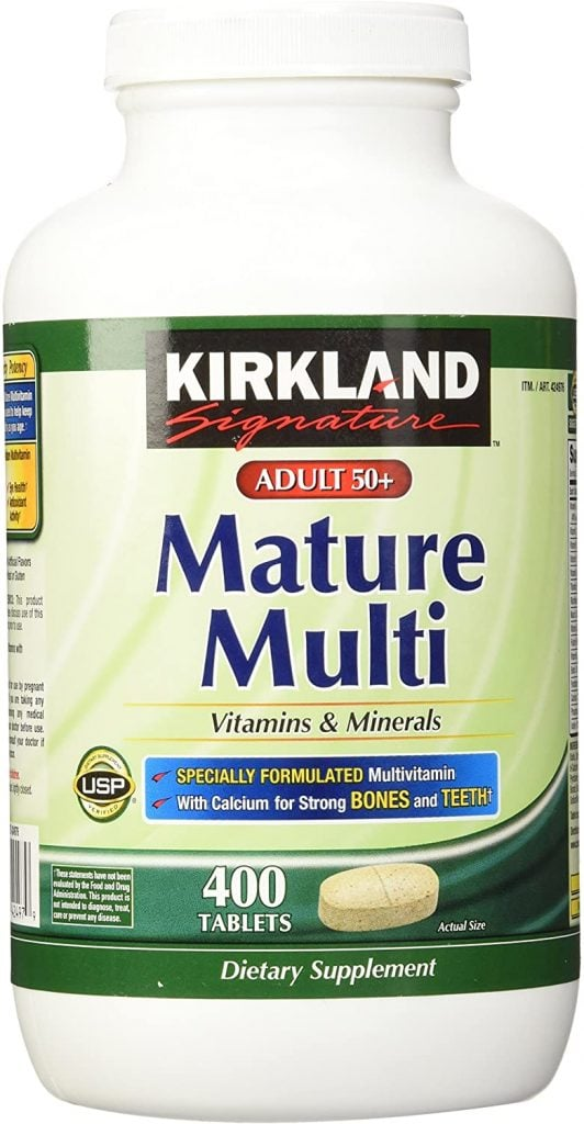 Mature Multi, Adult 50 Plus from Kirkland Signature