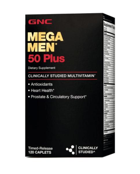 Mega Men 50 Plus, from GNC