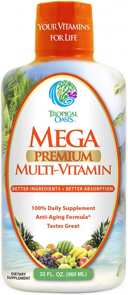 Mega Premium Liquid Multivitamin from Tropical Oasis