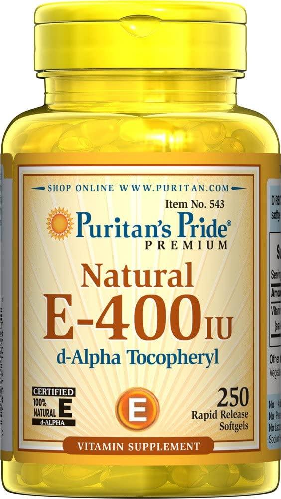 Natural E, by Puritan's Pride