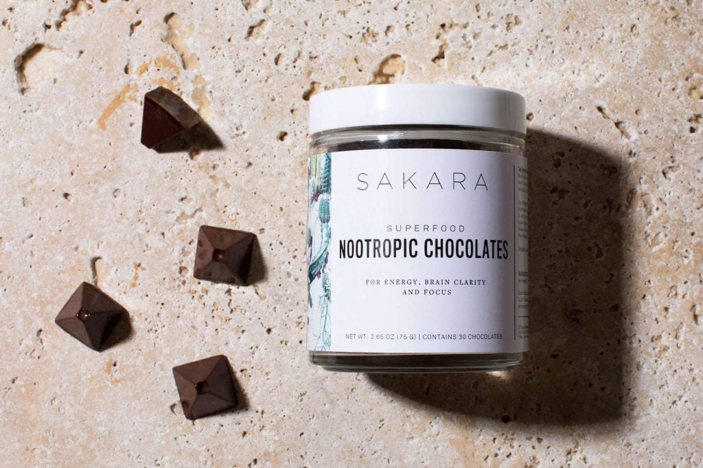 Nootropic Chocolates by Sakara