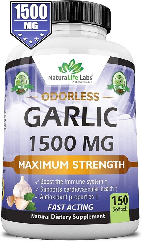 Odorless Garlic, 1500 mg, from NaturaLife Labs