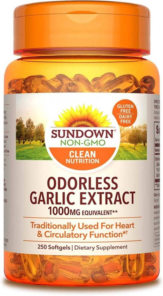 Odorless Garlic Extract, from Sundown