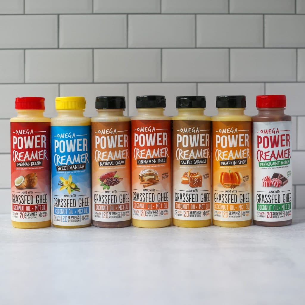 Omega PowerCreamer flavors