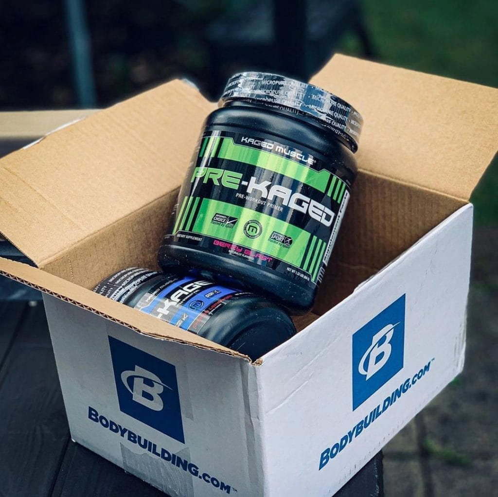 Pre-Kaged Premium Pre-Workout in a box
