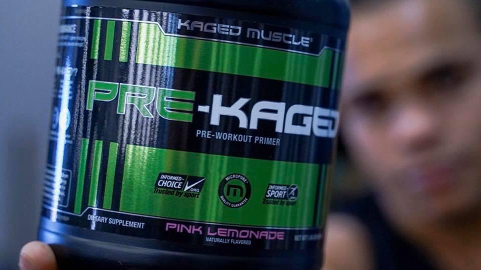 Pre-Kaged Premium Pre-Workout primer